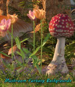 FB Mushroom Fantasy Backgrounds