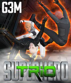 SuperHero Trio for G3M Volume 1
