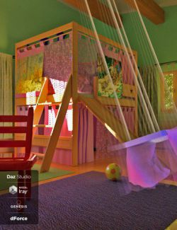 dForce Play Bedroom