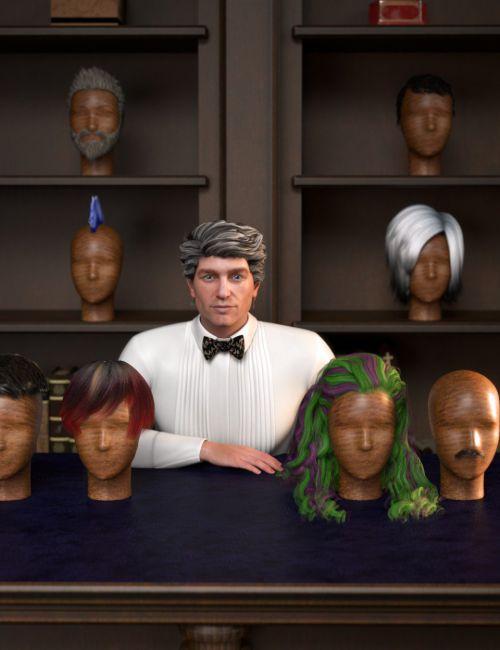 RSSY Hair Converter from Genesis 2 Male to Genesis 8 Male