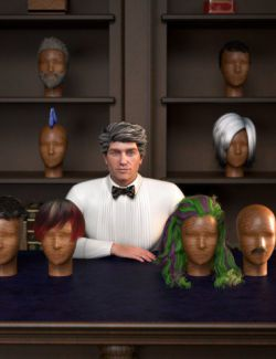 RSSY Hair Converter from Genesis 2 Male to Genesis 8 Male
