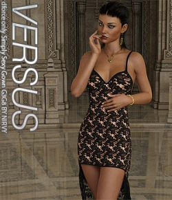VERSUS- dforce only Simply Sexy Gown G3G8