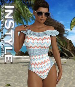 InStyle- X-Fashion Kimora Swimsuit