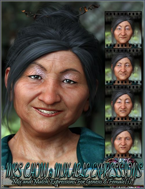 Mixable Expressions for Mrs Chow 8 and Genesis 8 Female(s)