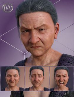 Wisdom- Expressions for Genesis 8 Female and Mrs Chow 8