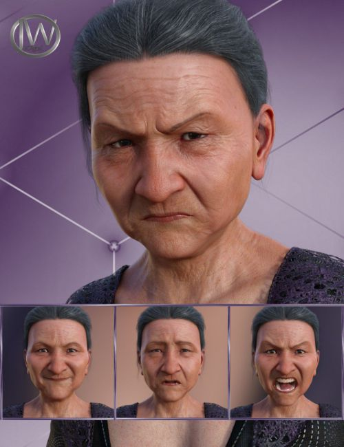 Wisdom - Expressions for Genesis 8 Female and Mrs Chow 8