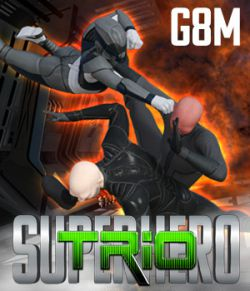 SuperHero Trio for G8M Volume 1