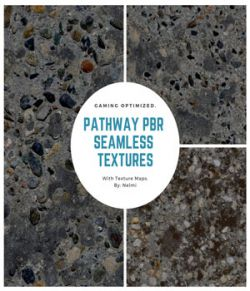 10 Pathway PBR Seamless Textures - MR