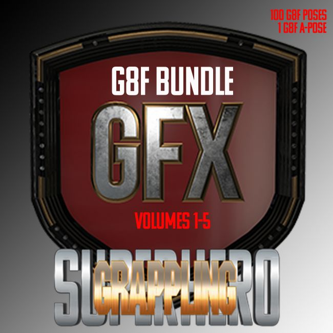 SuperHero Grappling Bundle for G8F