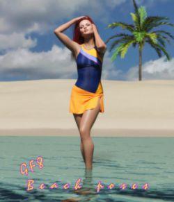 Beach poses for GF8
