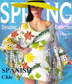 Spring Collection: Spanish Chic La Femme V4