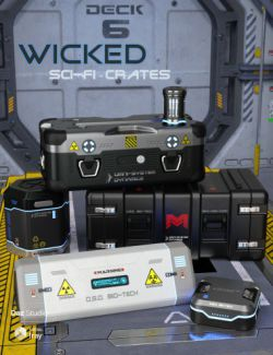 Wicked Sci-Fi Crates
