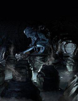 Alien Corridor Kit