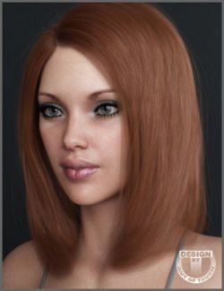 Sara Hair for Genesis 3 and 8 Female(s)