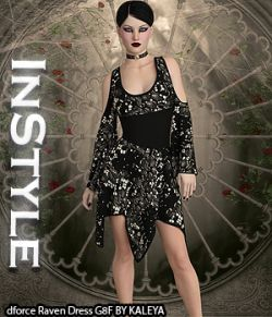 InStyle- dforce Raven Dress G8F