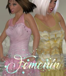 DA-Femenin for Sina Dress For La Femme V4 PE and Dawn