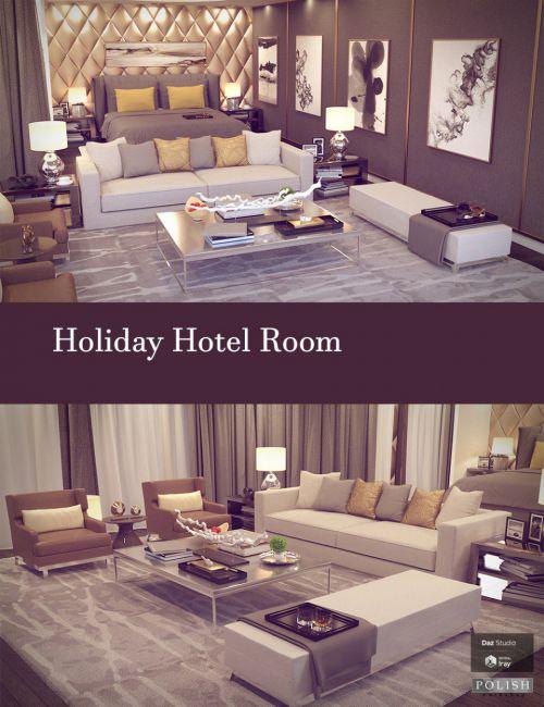 Holiday Hotel Room