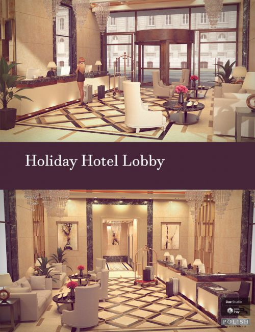 Holiday Hotel Lobby