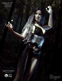 Wicked Sorceress Poses for Genesis 8 Female(s)