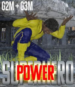 SuperHero Power for G2M and G3M Volume 1
