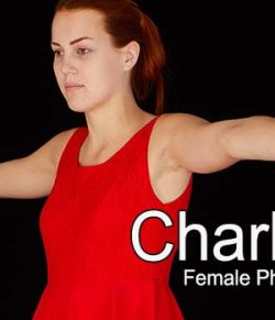 CharlieRed, Female Full Figure Photo References