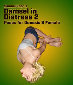 Samuel Khan's Damsel in Distress Poses 2 for G8F