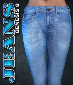 Exnem Jeans for Genesis 8 Female