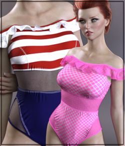 Sirens: X-Fashion Kimora Swimsuit