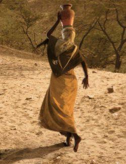 dForce Desert Robe Outfit for Genesis 8 Female(s)