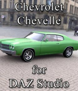 Chevrolet Chevelle for DAZ Studio