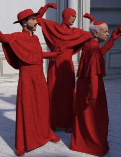 dForce Inquisitor Robe for Genesis 8 Male(s)