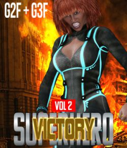 SuperHero Victory for G2F and G3F Volume 2