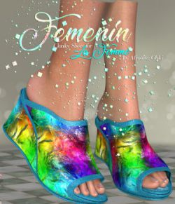 DA-Femenin for Clonky Shoes  for La Femme