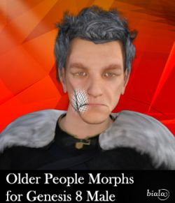 Older People Morphs for Genesis 8 Male