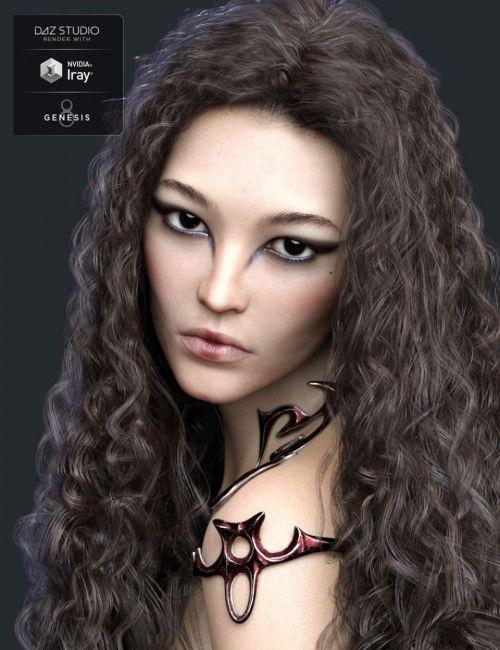 Fan Ling HD for Genesis 8 Female