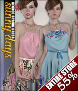Sunny Days for dForce Spring Dress G8F