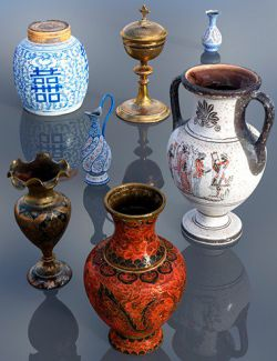 7 Decorative Vase Collection