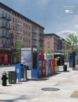 New York Street Props