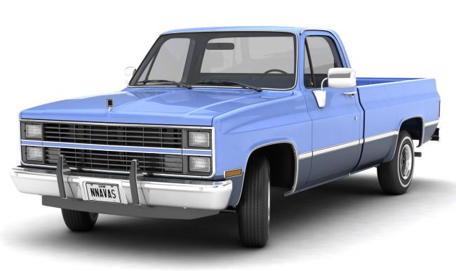 GENERIC PICKUP TRUCK 3 - Extended Licence
