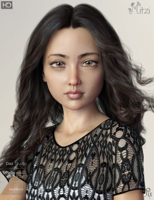 Pix Mitzi HD for Genesis 8 Female