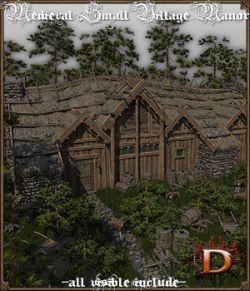 Medieval Small Village Manor