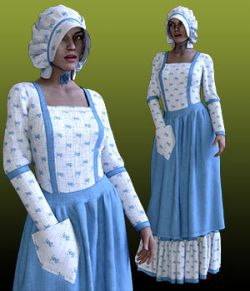 dForce Prairie Queen For GF8 Daz Studio Iray
