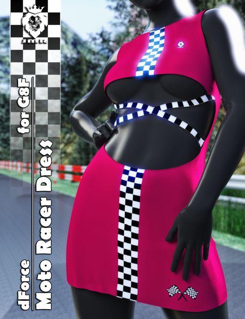 JMR dForce Moto Racer Dress for G8F