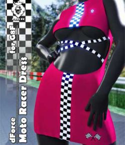 JMR dForce Moto Racer Dress for G8F
