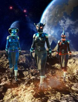 Scifi Egyptian Outfit For Genesis 8 Females(s)