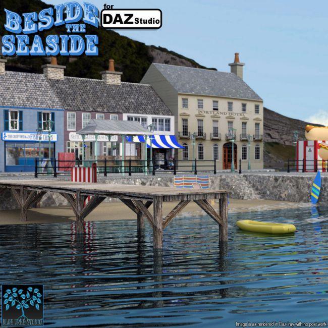 Beside the Seaside for Daz Studio
