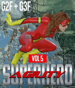 SuperHero Agility for G2F and G3F Volume 5