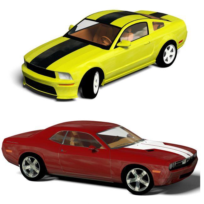 Budget Pony Cars