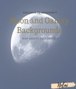 Moon and Galaxy Backgrounds