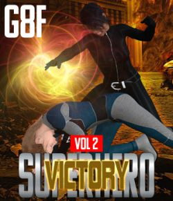 SuperHero Victory for G8F Volume 2